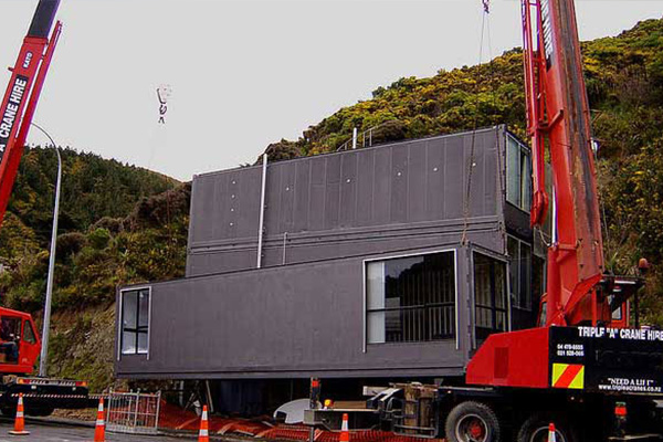 集装箱房屋作品: Wellington Container house