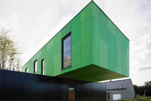 集装箱活动房: Cross Shape Container Home